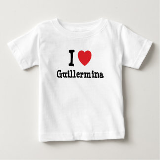 I love Guillermina heart T-Shirt