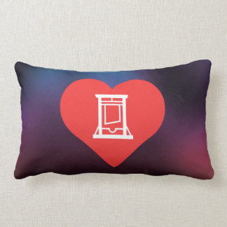 I Love Guillotines Pillow