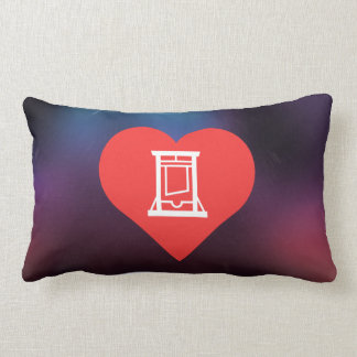 I Love Guillotines Throw Pillow