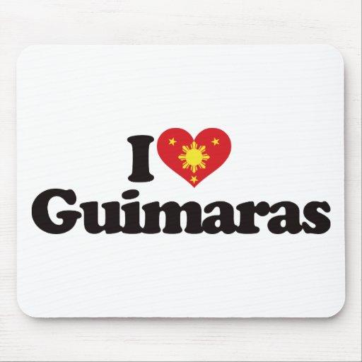 I Love Guimaras Mouse Pads