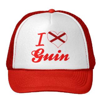 I Love Guin, Alabama Trucker Hat