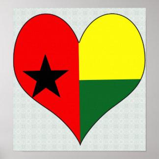 I Love Guinea Bissau Poster