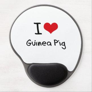 I Love Guinea Pig Gel Mouse Mat