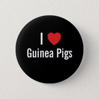 I love Guinea Pigs Button
