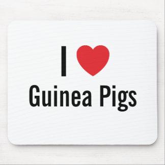 I love Guinea Pigs Mouse Mats