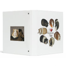 I Love Guinea Pigs Notebook Binder