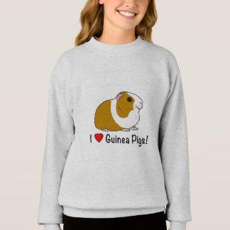 I Love Guinea Pigs! Sweatshirt