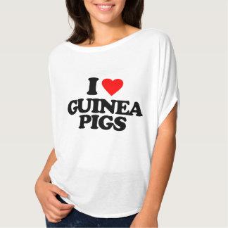 I LOVE GUINEA PIGS T SHIRT