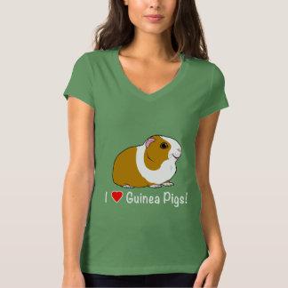 I Love Guinea Pigs! T-Shirt