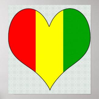 I Love Guinea Posters