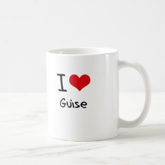 I Love Guise Mug