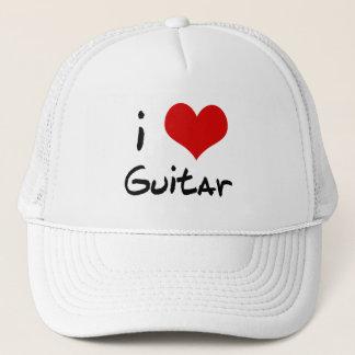 I Love Guitar Hat