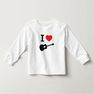 I love guitar toddler t-shirt
