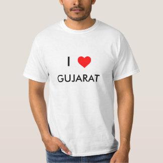 i love gujarat t-shirt