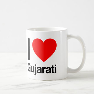 i love gujarati coffee mug