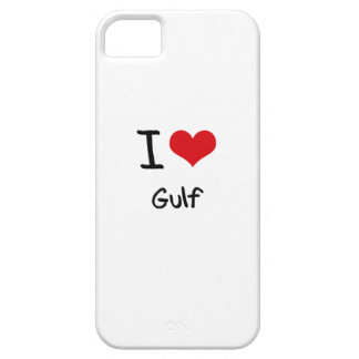 I Love Gulf iPhone 5 Cases