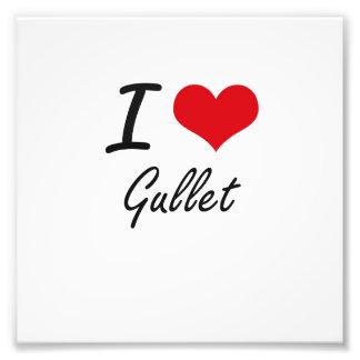 I love Gullet Photo Print