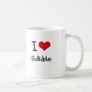 I Love Gullible Classic White Coffee Mug