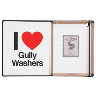 i love gully washers iPad cover