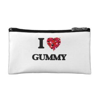 I Love Gummy Makeup Bags