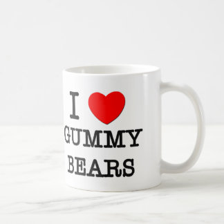 I Love Gummy Bears Coffee Mug
