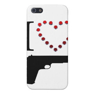 I LOVE GUN COVER FOR iPhone 5