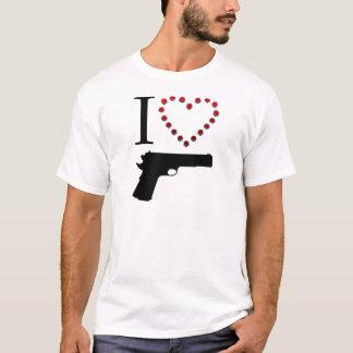 I LOVE GUN T-Shirt