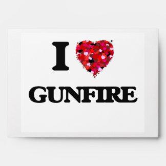 I Love Gunfire Envelope