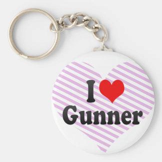 I love Gunner Key Chain