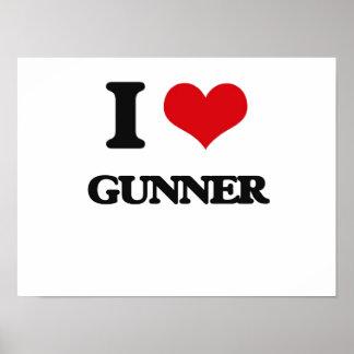 I love Gunner Poster
