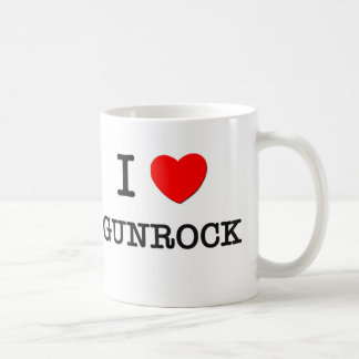 I Love Gunrock Massachusetts Coffee Mugs