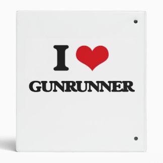 I love Gunrunner 3 Ring Binder