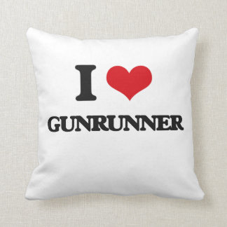 I love Gunrunner Pillows