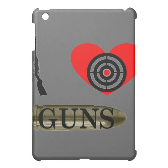 I love Guns Case For The iPad Mini