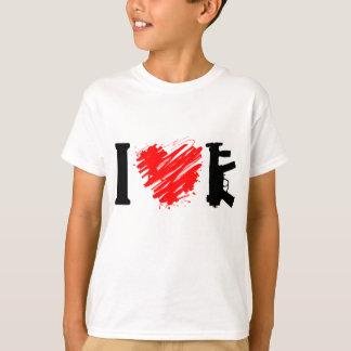 I Love Guns T-Shirt