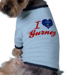 I Love Gurney, Wisconsin Dog Clothes
