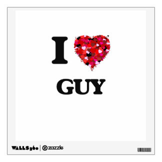 I Love Guy Wall Graphic