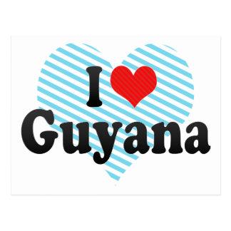 I Love Guyana Postcard