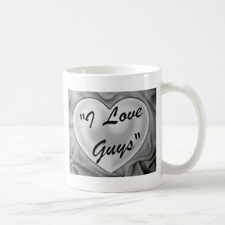 I Love Guys Coffee Mug