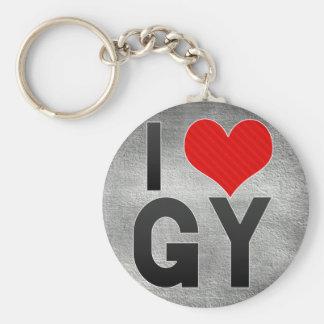 I Love GY Keychain