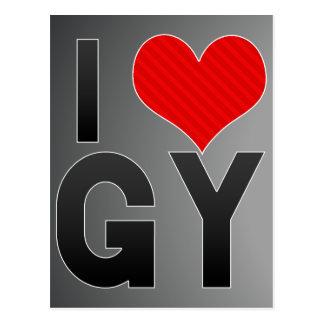 I Love GY Postcard