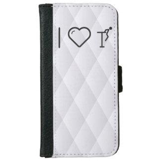 I Love Gymnast Wings iPhone 6 Wallet Case