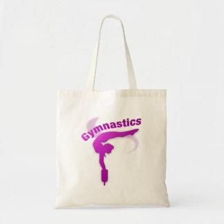 I Love Gymnastics #12 Canvas Bags