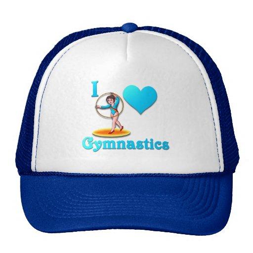 i love gymnastics #3 trucker hat