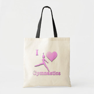 i love gymnastics #6 tote bag