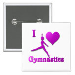i love gymnastics #8 pins