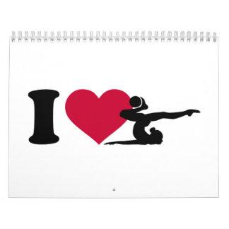 I love Gymnastics Calendar