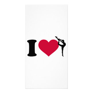 I love Gymnastics Card