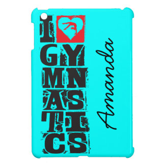 I Love Gymnastics Hunter Personalized Cover For The iPad Mini