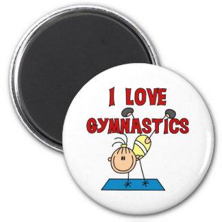 I Love Gymnastics Magnets
